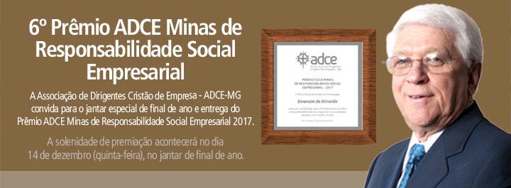 Convite – Jantar de Fim de Ano e entrega do Prêmio ADCE Minas de Responsabilidade Social – 14/12 (quinta-feira)
